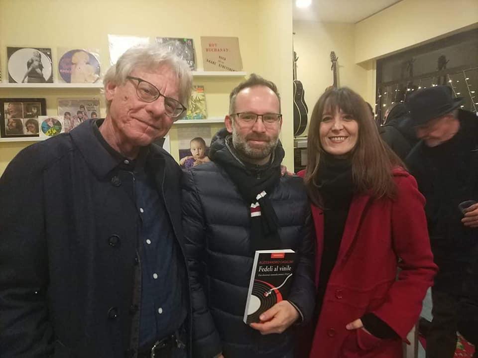 """15.12.18 – Presentazione di """"Fedeli al Vinile"""" presso il Purple di La Spezia"""