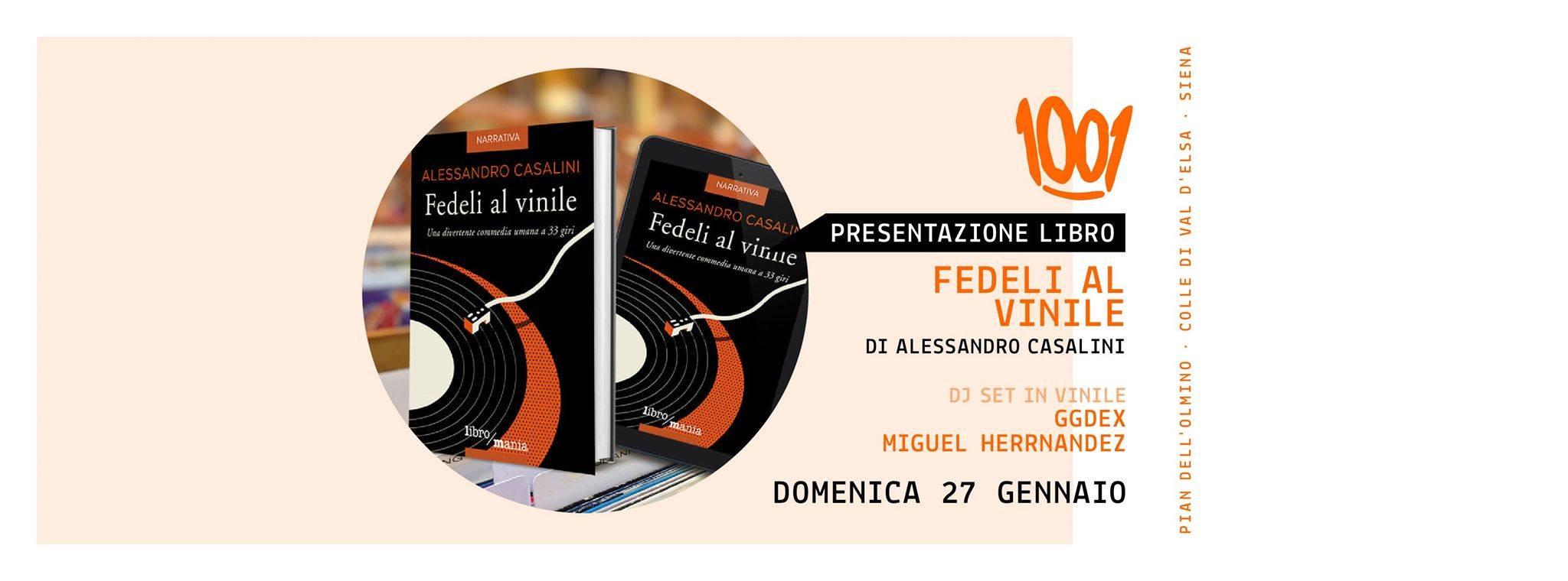 27.01.19 – Fedeli al Vinile presso Asd1001 Colle Val'Elsa (SI)